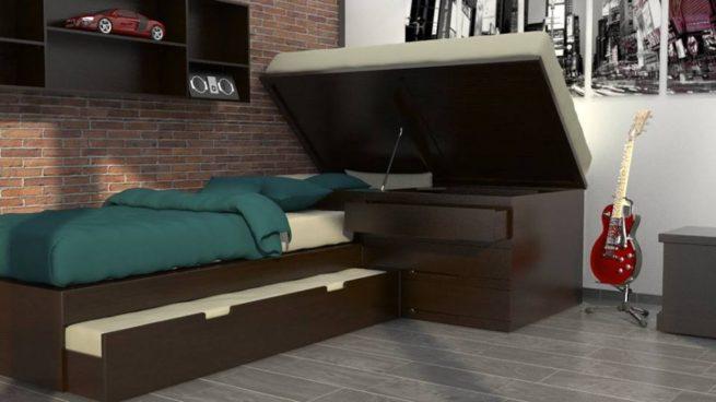 Rec maras muebles garza 100 madera for Recamaras de madera en monterrey
